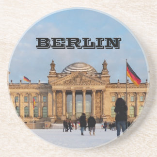 Posavasos De Arenisca Nevado Reichstag_001.02 (Reichstag im Schnee)