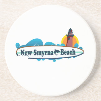 Posavasos De Arenisca Nueva playa de Smyrna