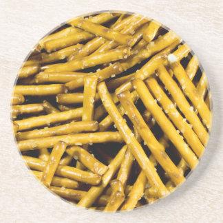 Posavasos De Arenisca Palillos de los pretzeles