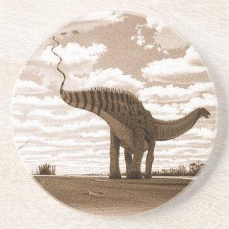 Posavasos De Arenisca Sepia Gregory Paul del Brontosaurus del práctico