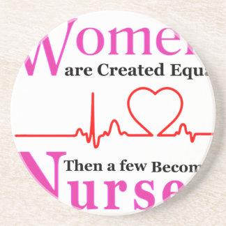 Posavasos De Arenisca Todas las mujeres son igual creado entonces que