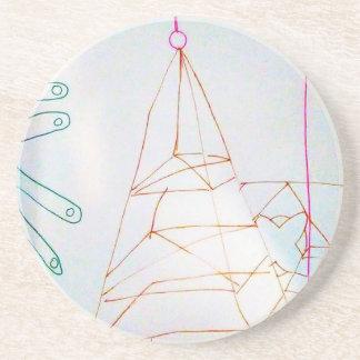 Posavasos De Arenisca Un juego de la cuenta de cristal de los geómetras