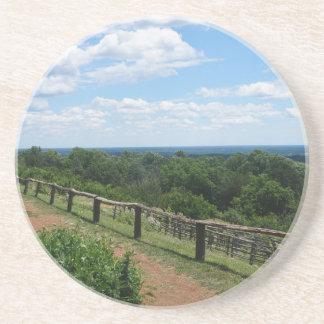 Posavasos De Arenisca Una visión desde Monticello