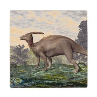 Posavasos De Madera Dinosaurio de Parasaurolophus - 3D rinden