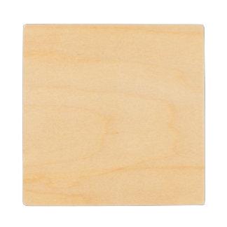 Posavasos De Madera Práctico de costa de madera de encargo