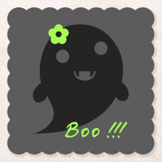Posavasos De Papel Fantasma lindo de Halloween