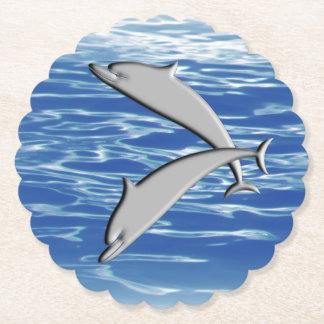 Posavasos De Papel Juego del delfín