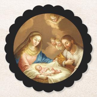 Posavasos De Papel La Natividad