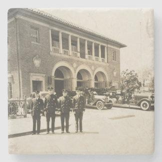 Posavasos De Piedra 150o aniversario de Redwood City