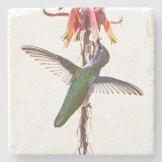 Posavasos De Piedra Alas del colibrí