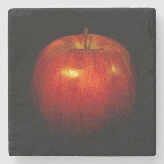 Posavasos De Piedra Apple rojo 2
