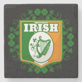 Posavasos De Piedra Arpa del día de St Patrick