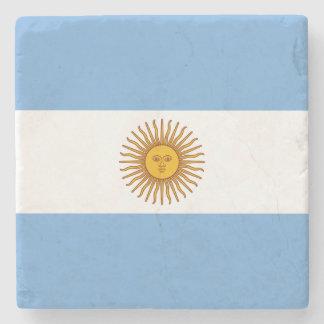 Posavasos De Piedra Bandera argentina patriótica