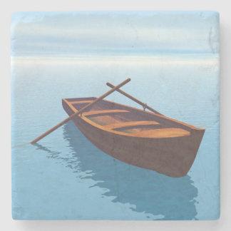 Posavasos De Piedra Barco de madera - 3D rinden