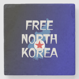 Posavasos De Piedra CAMISETA Corea del Norte libre