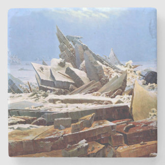 Posavasos De Piedra CASPAR DAVID FRIEDRICH - el mar del hielo 1824
