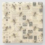 Posavasos De Piedra Catálogo de abejas y cosechas