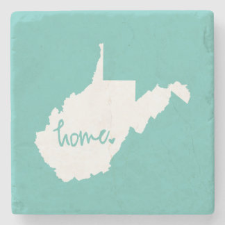 Posavasos De Piedra Color casero del personalizado de Virginia