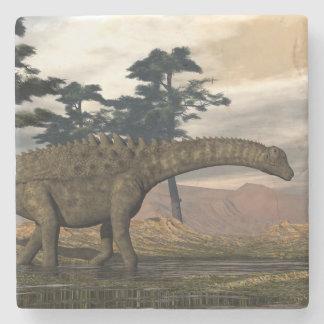 Posavasos De Piedra Dinosaurio del Ampelosaurus