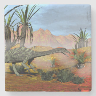 Posavasos De Piedra Dinosaurio del Anchisaurus - 3D rinden