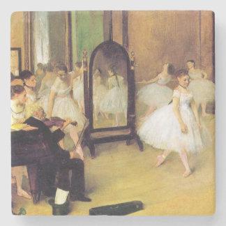 Posavasos De Piedra Edgar Degas el   la clase de baile