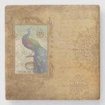 Posavasos De Piedra Elegante guión victoriano antiguo pintoresco Peaco