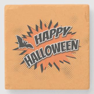 Posavasos De Piedra Feliz Halloween