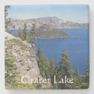 Posavasos De Piedra Foto del parque nacional del lago crater