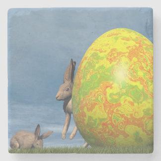 Posavasos De Piedra Huevo de Pascua - 3D rinden