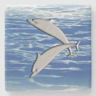 Posavasos De Piedra Juego del delfín