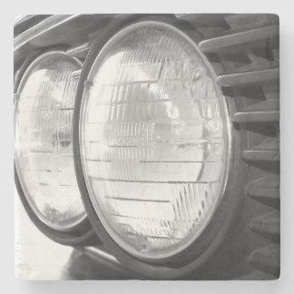 Posavasos De Piedra Linternas de BMW del vintage