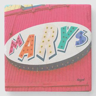 Posavasos De Piedra Maria, EAV, pueblo del este de Atlanta, Atlanta