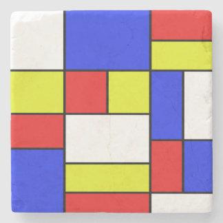 Posavasos De Piedra Mondriaan #19
