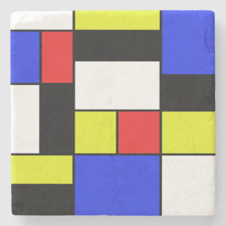 Posavasos De Piedra Mondriaan #20