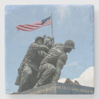 Posavasos De Piedra Monumento de Iwo Jima en Washington DC
