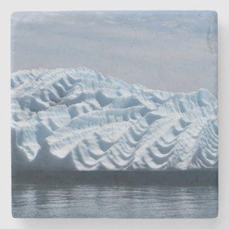 Posavasos De Piedra Ondulaciones en práctico de costa del iceberg de