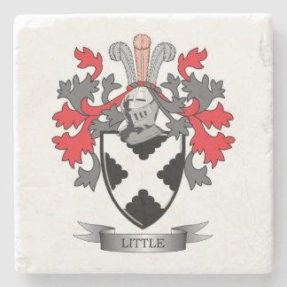 Posavasos De Piedra Pequeño escudo de armas del escudo de la familia