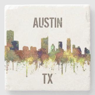 Posavasos De Piedra Piel de ante del SG-Safari del horizonte de Austin
