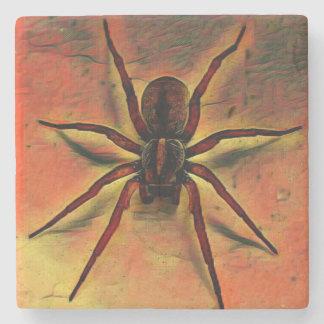 Posavasos De Piedra Práctico de costa de la araña