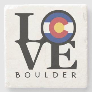 Posavasos De Piedra Práctico de costa de piedra de Colorado Boulder