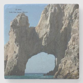 Posavasos De Piedra Práctico de costa de piedra de mármol