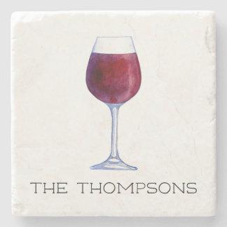 Posavasos De Piedra Prácticos de costa personalizados vino de la