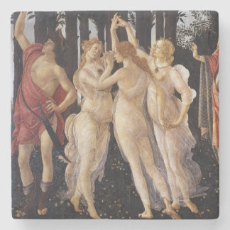 Posavasos De Piedra Primavera: Las tres tolerancias por Botticelli