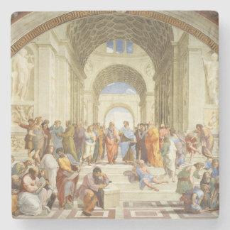 Posavasos De Piedra Raphael - La escuela de Atenas 1511
