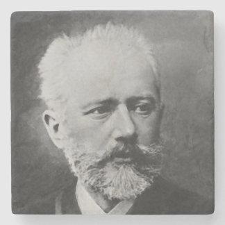 Posavasos De Piedra Retrato de la foto de Tchaikovsky
