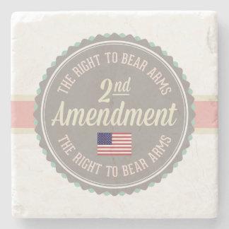 Posavasos De Piedra Segunda enmienda
