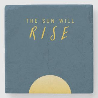 Posavasos De Piedra The Sun subirá
