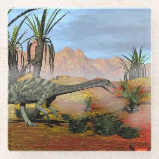 Posavasos De Vidrio Dinosaurio del Anchisaurus - 3D rinden
