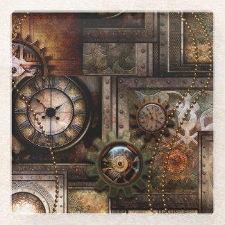 Posavasos De Vidrio Diseño maravilloso del steampunk