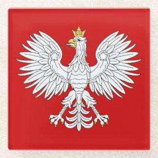 Posavasos De Vidrio Eagle polaco